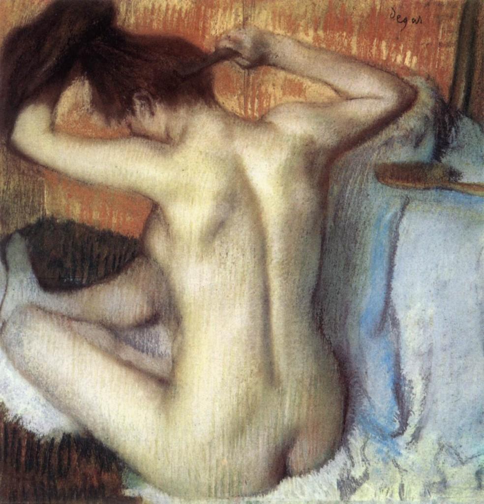 Degas-donna-che-si-pettina