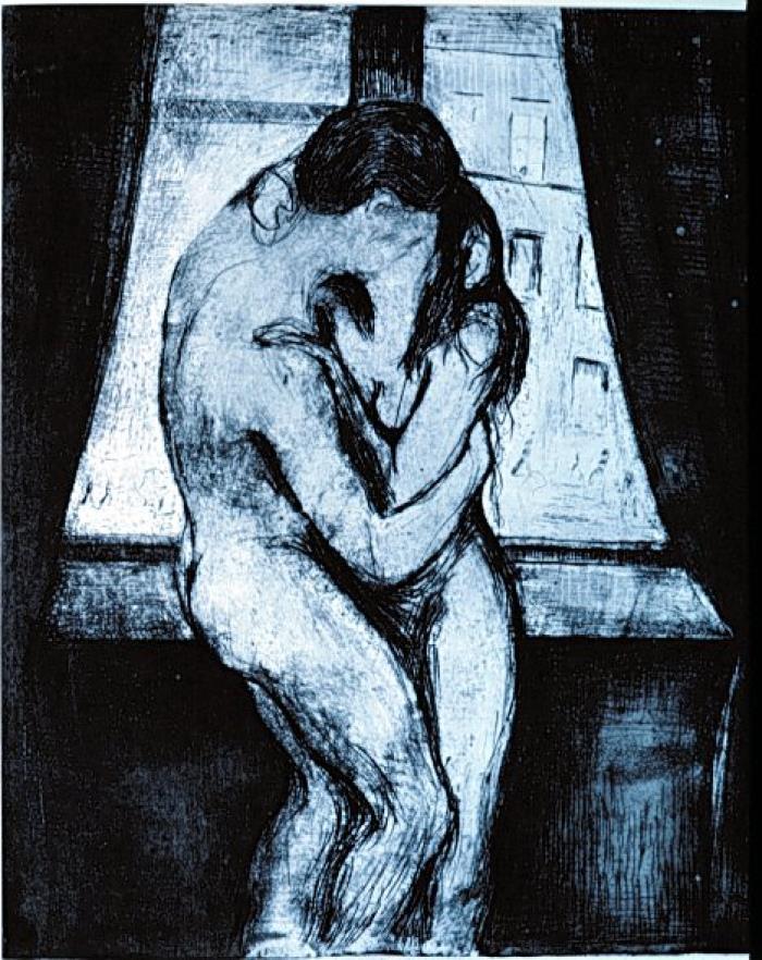 Edvard-Munch-il-bacio
