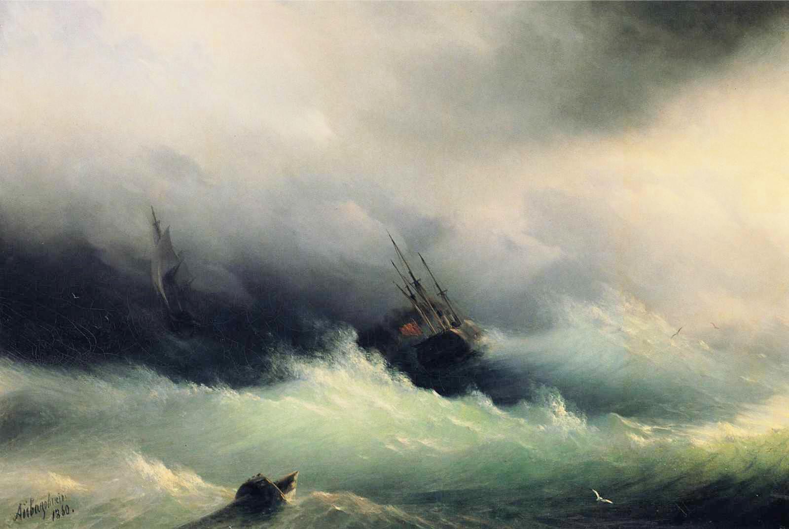 Nave-nella-tempesta-Ajvazovskij1